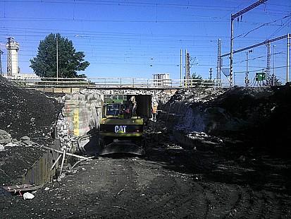 Dopravní stavby, výstavba parkovišť, inženýrské sítě, zemní práce, Břeclav