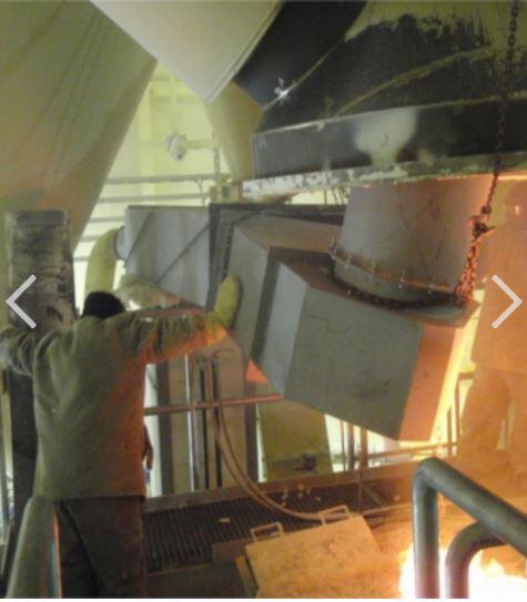 Servis a opravy sklářských pecí Teplice