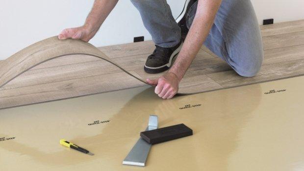 Pokládka podlahových krytin