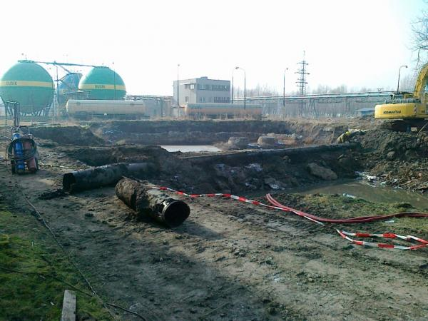 Sanace území a objektů obsahujících azbest a sanace ekologických zátěží