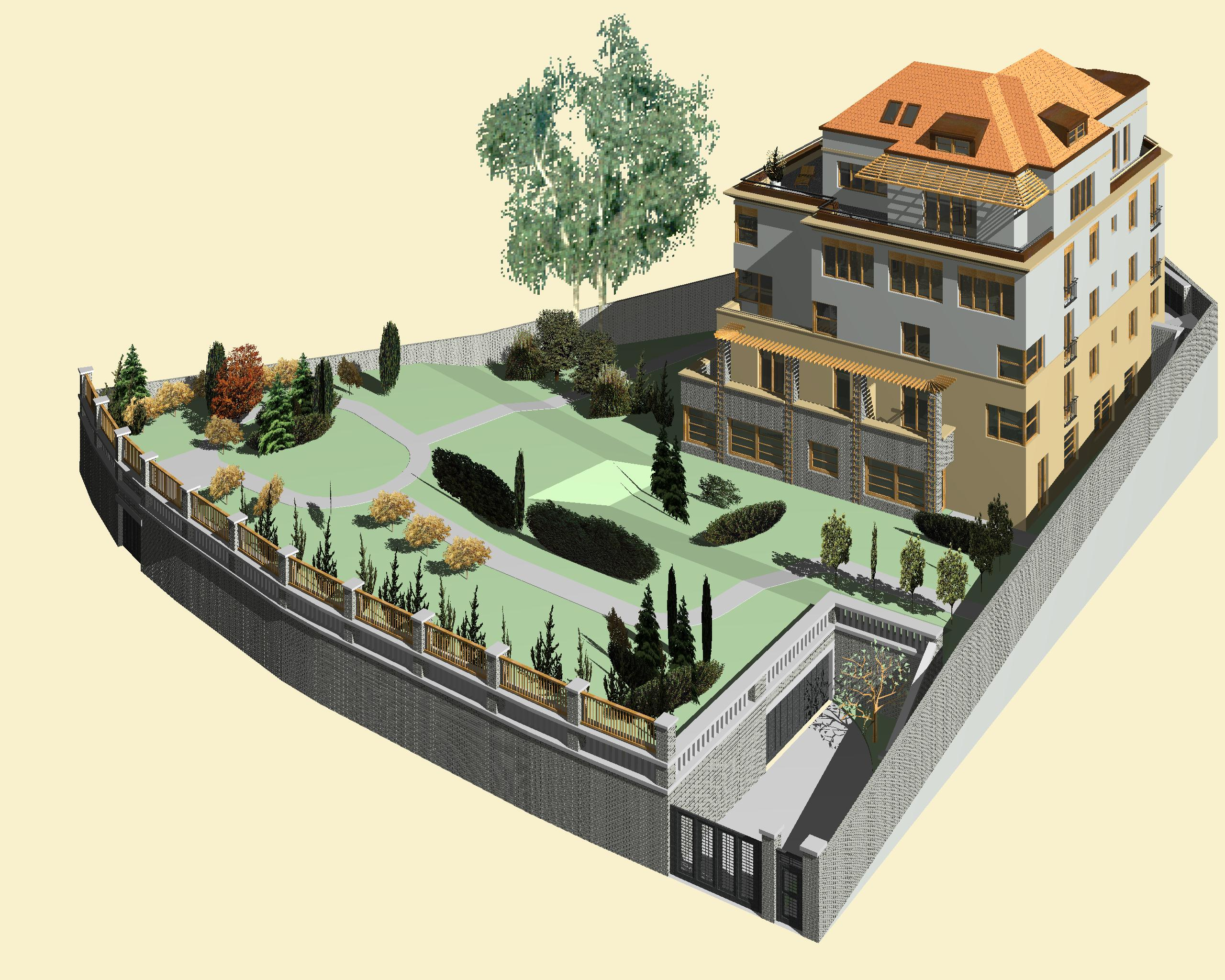 Služby od návrhu po kolaudaci a předání hotové  stavby