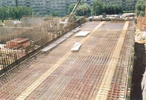 Monolitické železobetonové stavby - realizace hrubé stavby montovanou technologií
