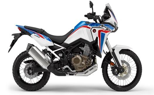 Nový motocykl značky HONDA pro pohodlnou jízdu na asfaltu i v terénu