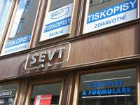 Reklamní polepy výloh Brno