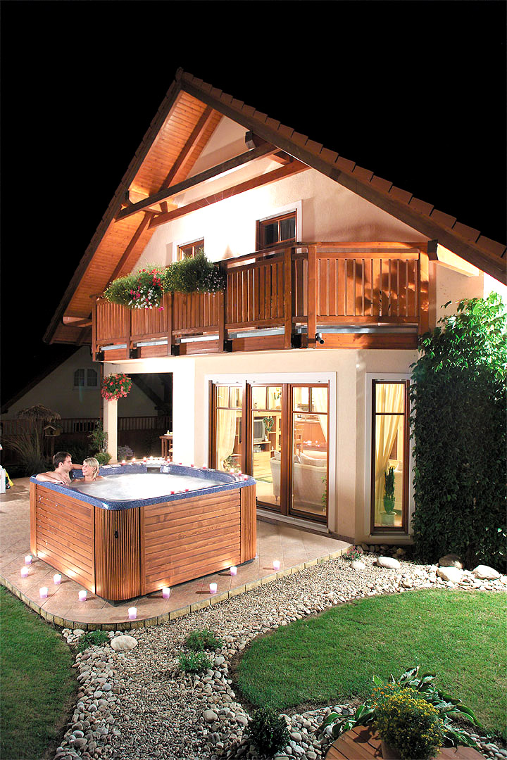 SPA - masážní bazén