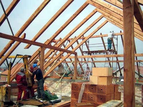 rekonstrukce krovů, střechy