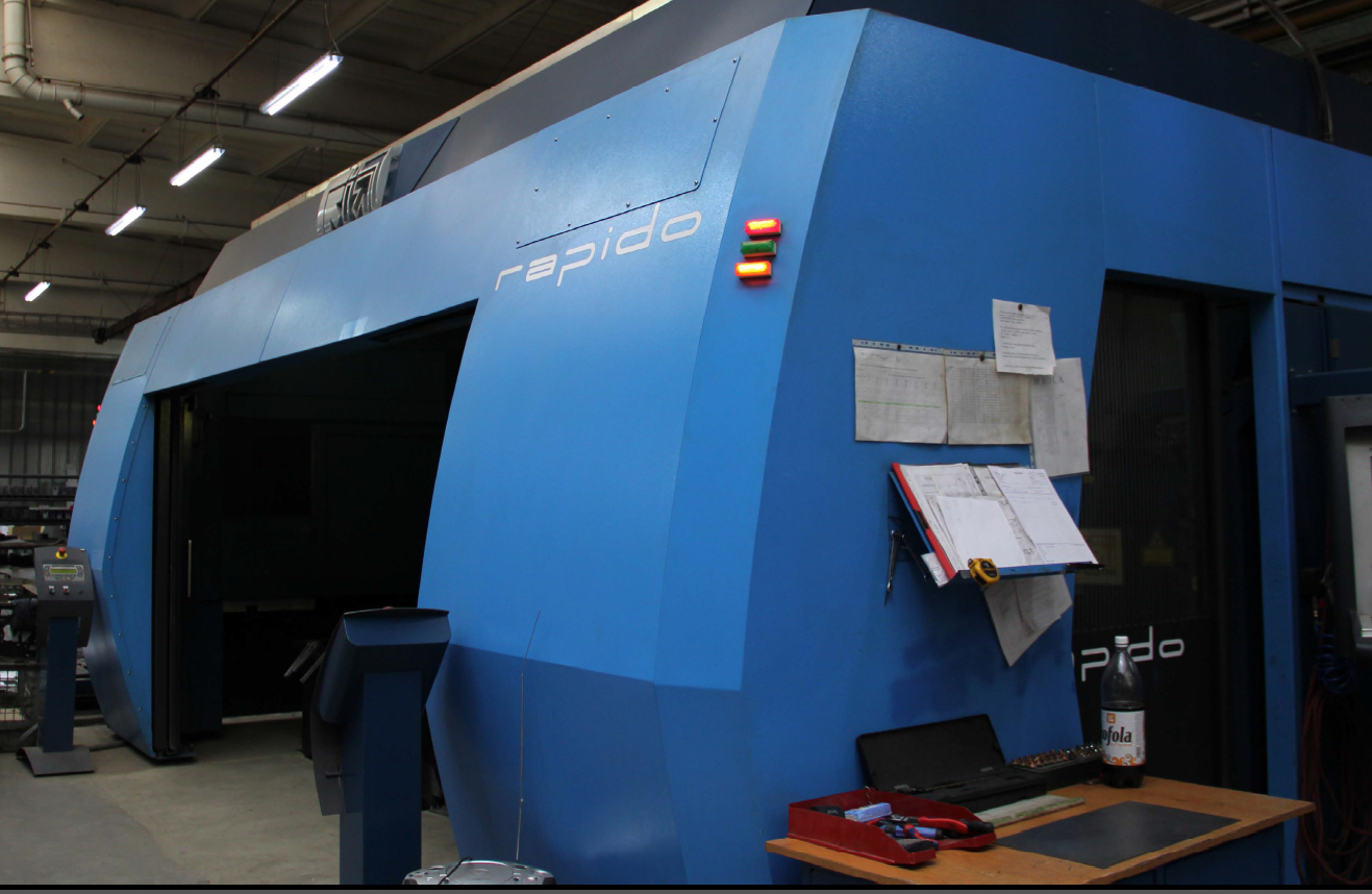 3D laser - trojrozměrné, laserové řezání plechu, trubek, jeklů, profilů