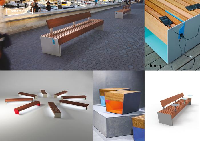 doplňky pro parkové lavičky