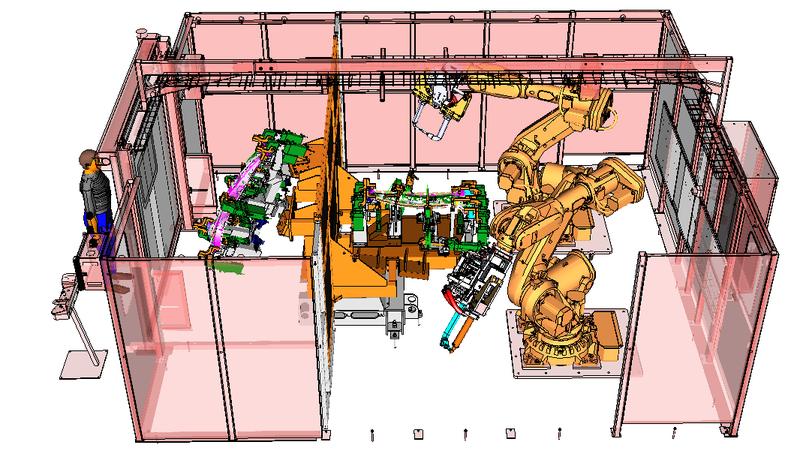 Off-line simulace robotických pracovišť – snížení nákladů na prototyp a včasné odhalení chyb