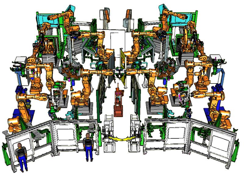 Off-line simulace robotických pracovišť – snížení nákladů na prototyp