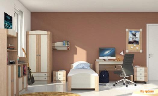 Variabilní, praktické a moderní dětské pokojíčky, které s Vašimi dětmi budou od dětství až po dospělost