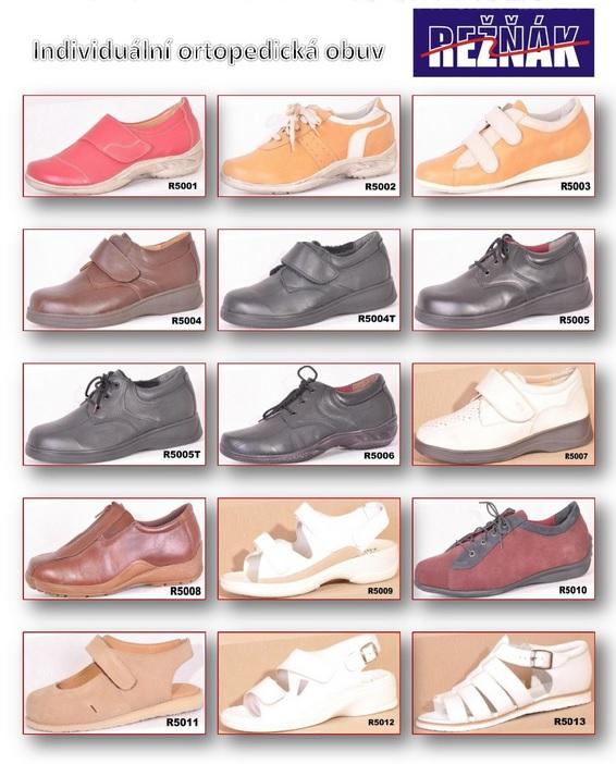 dámská ortopedická obuv Zlín