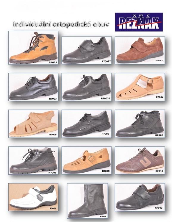 pánská ortopedická obuv Zlín