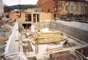 Hrubé stavby rodinného domu Karviná, Frýdek-Místek