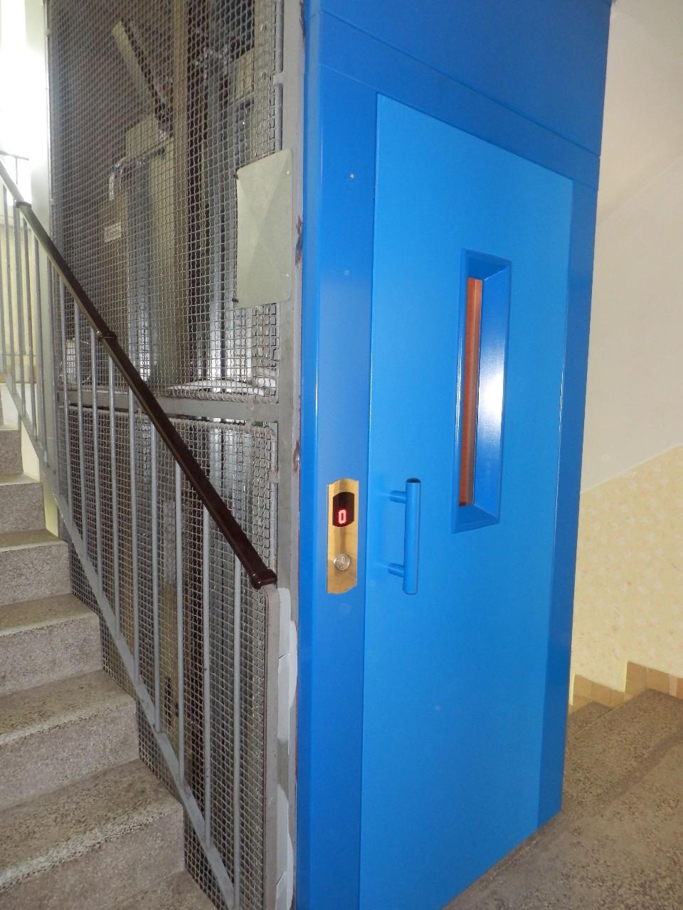 Kompletní zajištění služeb pro zdvihací zařízení a výtahové šachty