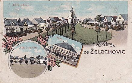 Vesnické muzeum Želechovice, obec s historií a archeologickým nalezištěm v okrese Olomouc
