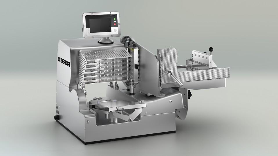 Automatický vertikální nářezový stroj VSI – zabudovaná kontrola cílové hmotnosti