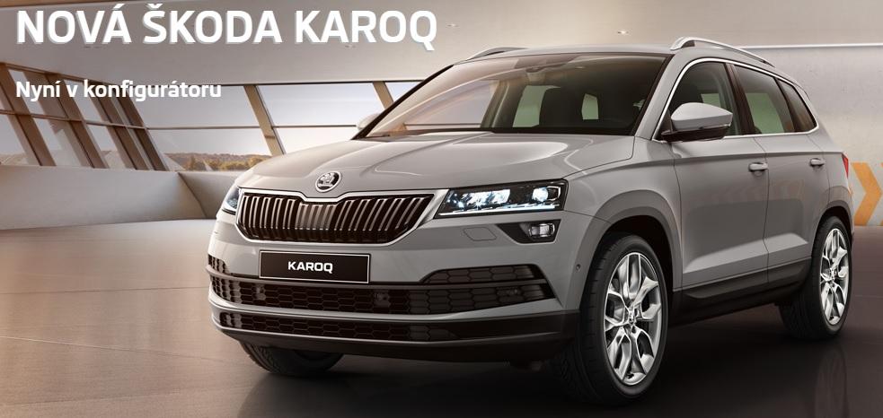 Testovací jízda a prodej nového kompaktního SUV Škoda KAROQ  - svěží, moderní i rodinný vůz