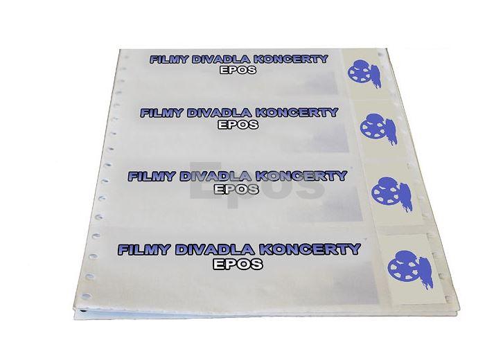 Vstupenky - kvalitní výroba a tisk vstupenek s ochranou před kopírováním