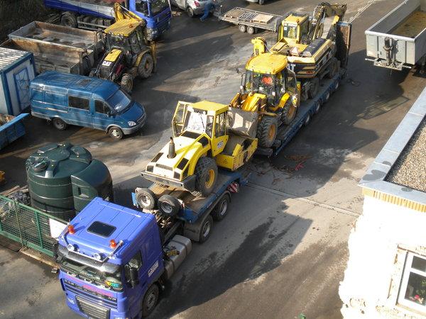Špičková přeprava materiálů, nákladů a strojů
