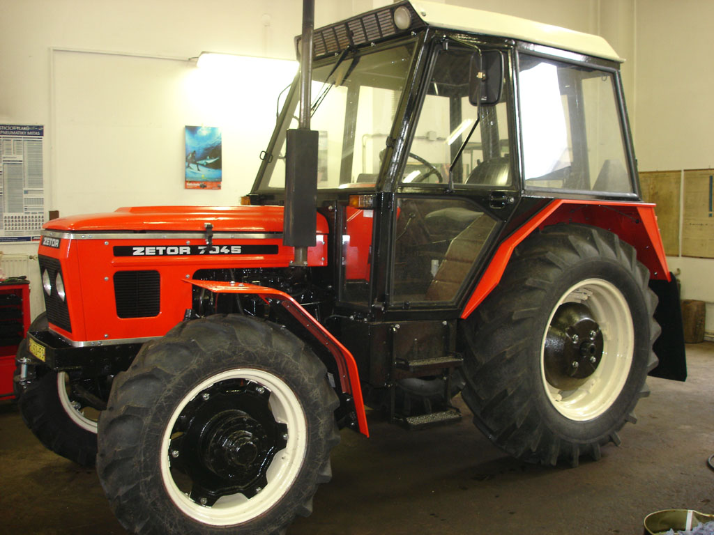 Kvalitní renovace traktorů