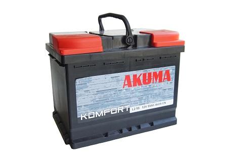 Akumulátory do auta Akuma