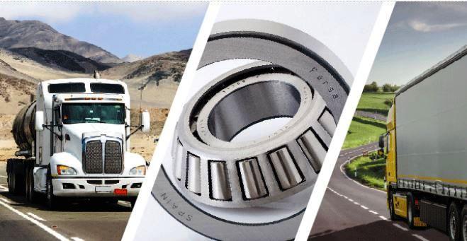 Kvalitní ložiska pro nákladní automobily a návěsy, kompletní náboje značky Fersa