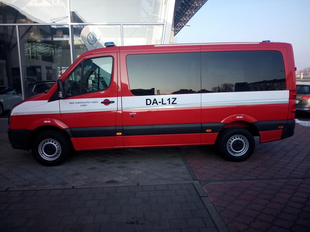 auto na míru pro hasiče - Uherské Hradiště