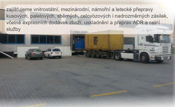 AZ LOGISTIKA s.r.o., vnitrostátní či mezinárodní přeprava