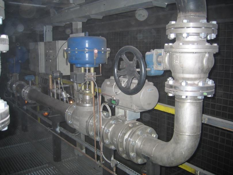Rurociągi przemysłowe, urządzenia gazowe - naprawy, rewizje, testy Czechy