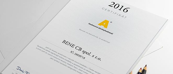 BENE CB spol. s r.o., České Budějovice, zpracování daní, vedení podvojného účetnictví, daňové evidence