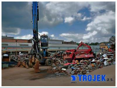 Sběr a zpracování kovového odpadu Valašské Meziříčí