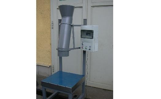 Přesné pytlovací dávkovací váhy - plnění přesné dávky do pytlů