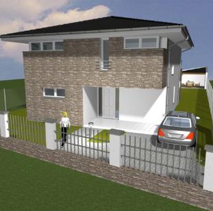 Návrh rodinného domu Veselí nad Moravou