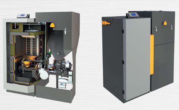 Automatické kotle Benekov na dřevní pelety řady R - nejkomfortnější kotel na biomasu