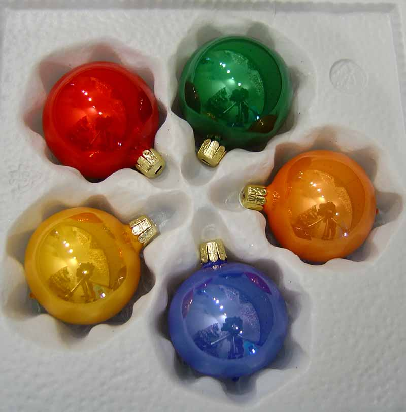 Foukané a ručně dělané vánoční ozdoby na váš stromeček, věnec, stůl či okno