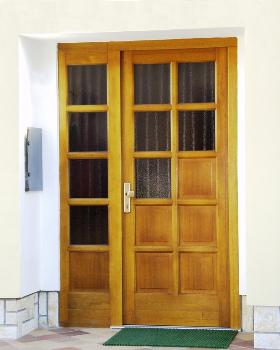 Vekra vchodové dveře
