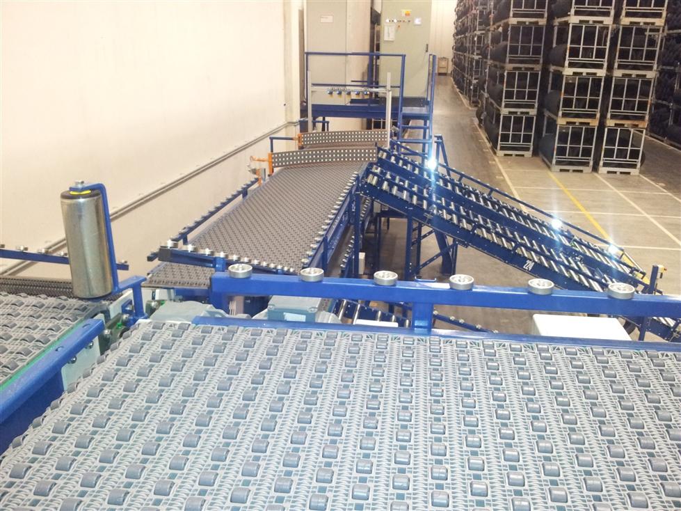 Dopravníkové systémy různého druhu a typu - pro přepravu kusových předmětů a sypkých materiálů