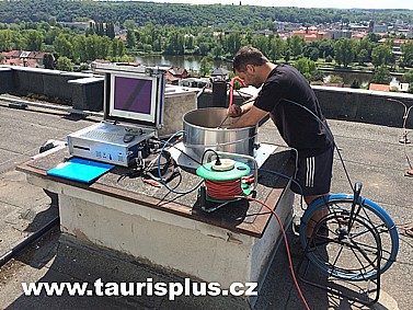 TAURIS plus, s.r.o., kamerové prohlídky, monitoring vzduchotechniky