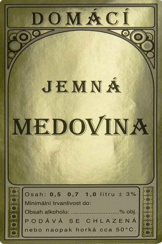METAPIS - Ing. Lea Andrejsová, vydáváme popisky na medovinu