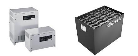Baterie a nabíječe do VZV