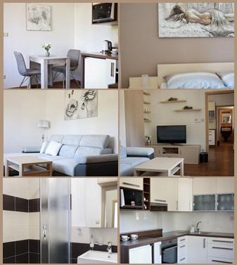 luxusní apartmán v penzionu Zlín