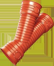 Kanalizační trubky a tvarovky Magnacor