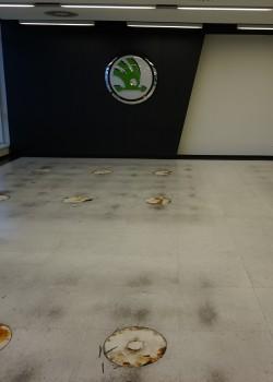 Renovace a ochrana vinylových podlah, linolea, kaučuku i koberců