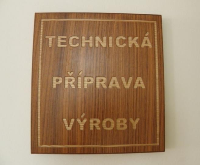 Frézovaní nápisů do dřeva Ostrava
