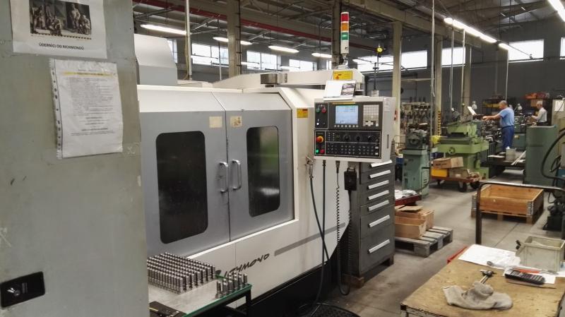 CNC frézování na moderních strojích, sériová výroba na CNC strojích