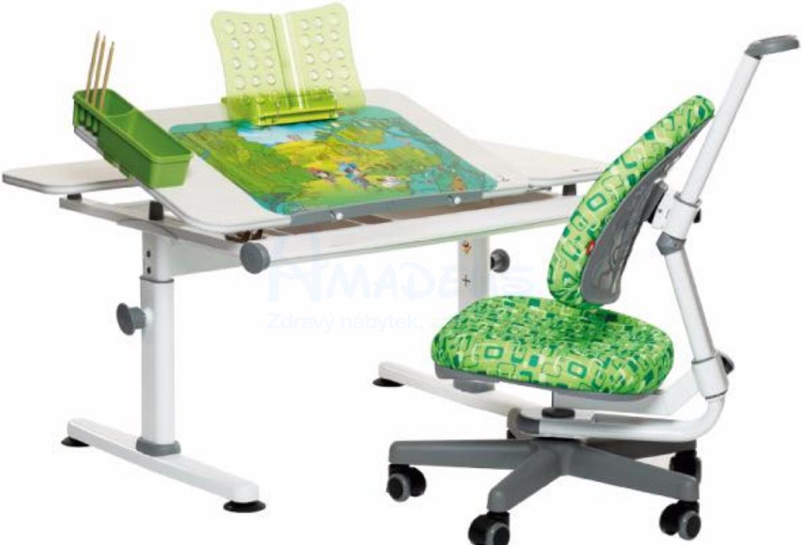 rostoucí židle a stůl od Amadeus