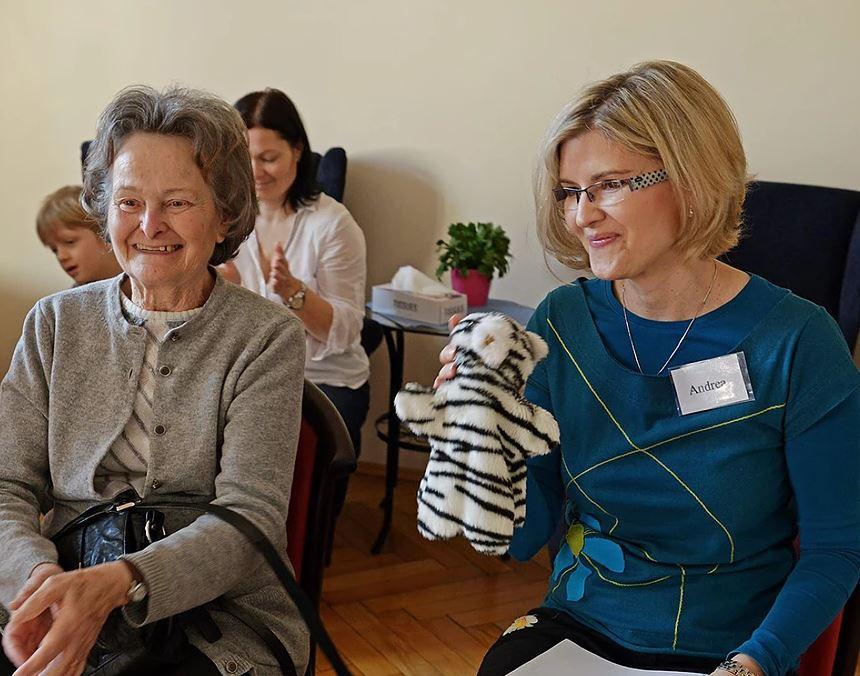 Rehabilitace pro dospělé s poruchou řečových funkcí Praha - Mezigenerační centrum Julie