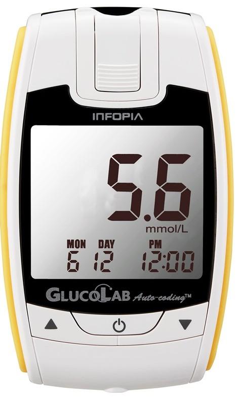 Inovovaný přístroj na měření cukru v krvi Glukometr GlucoLab - speciální nabídka