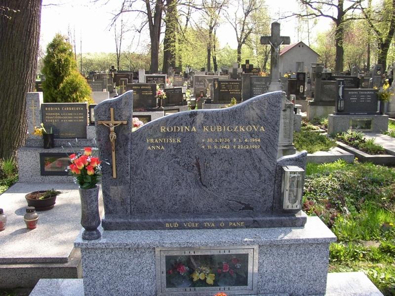 Výroba kamenných hřbitovních pomníků Ostrava, Frýdek-Místek